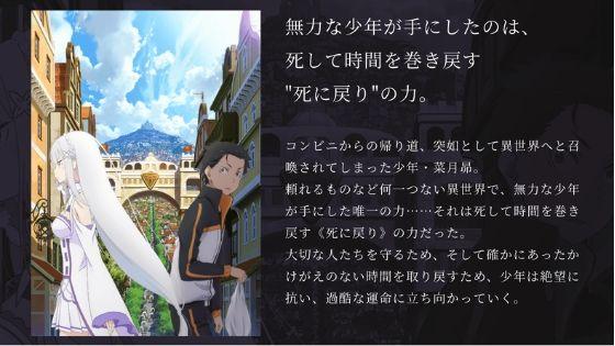 アニメ『リゼロ』無料視聴方法
